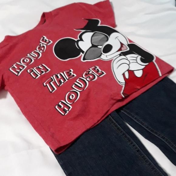 Disney Other - Calvin Klein Jean's & Disney NWT Shirt 3T